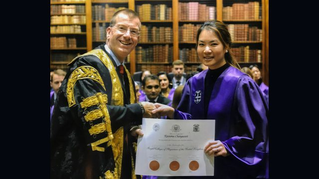 Siriraj Faculty Abroad at University College London