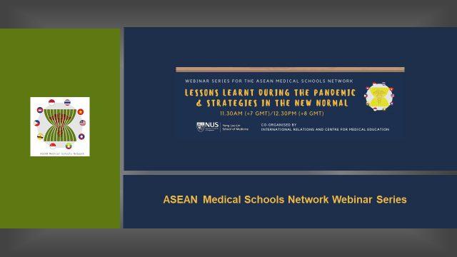 ASEAN Medical Schools Network Webinar Series